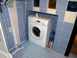 монтаж и подключение стиральной машины