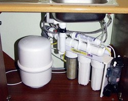 Установка фильтра очистки воды в Липецке, подключение фильтра очистки воды в г.Липецк