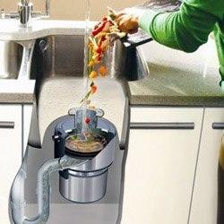 Установка измельчителя пищевых отходов в Липецке, подключение измельчителя пищевых отходов в г.Липецк